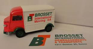 001, Eligor, Citroen Hy, 1.43eme, Brosset International Sa, (110 Ex), (epuise)