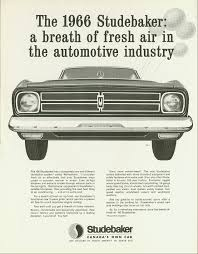 1966   The Last Studebaker Made In Canada  3