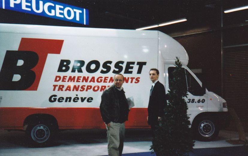48 Brosset International Moving Sa, Geneve, Salons Des Camions (2)