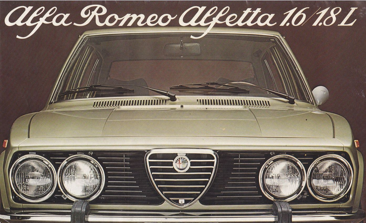 alfa romeo alfetta 1 6 italie 0064 voiture de tourisme alfa romeo italie autoalmanach. Black Bedroom Furniture Sets. Home Design Ideas