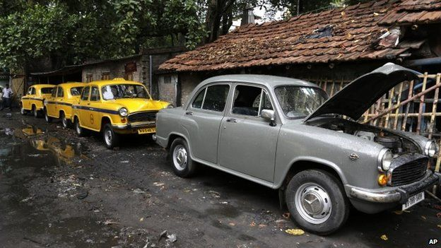 Ambassador Taxis In Calcutta