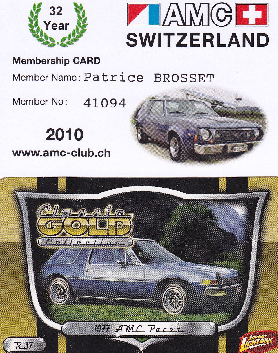 Amc Amc Club Of Switerland American Motor Lover