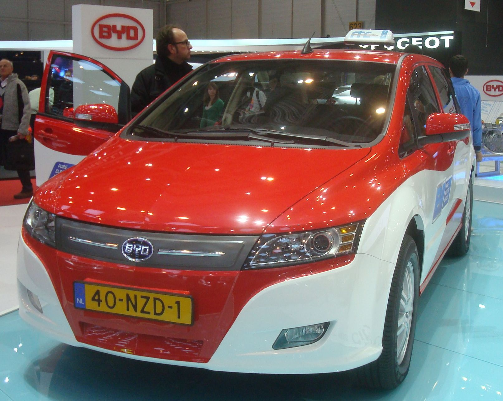 Byd Buy Your Dream (chine) Geneve Salon Automobile Mars 2011