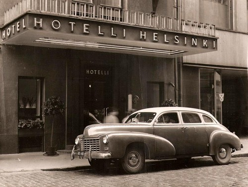 Checker A2 1947   Taxi A Helsinki   Photo De Madame Eliane Tracewski