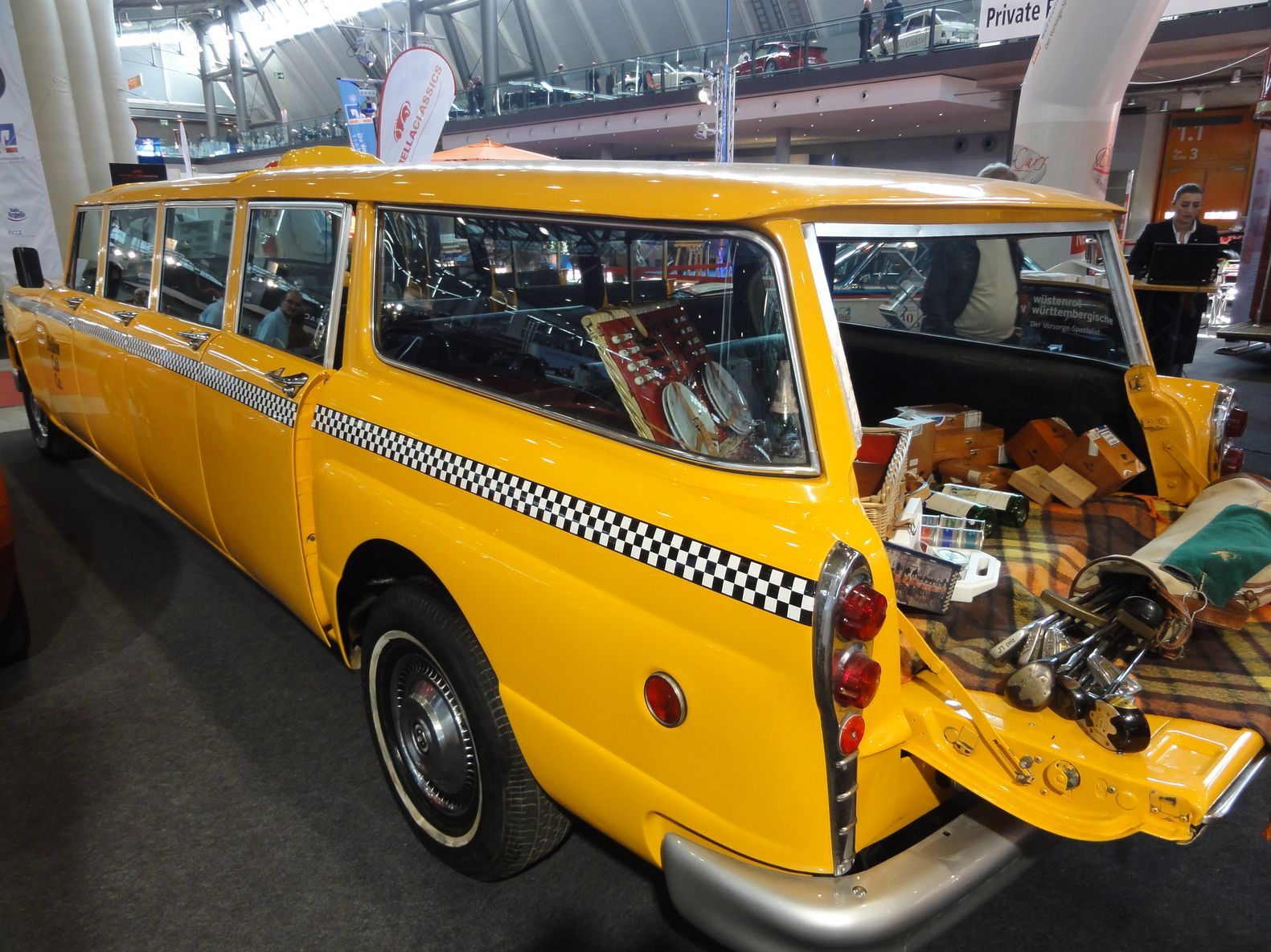 Checker Cab (usa) Retro Classics Messe Stuttgart Mars 2012