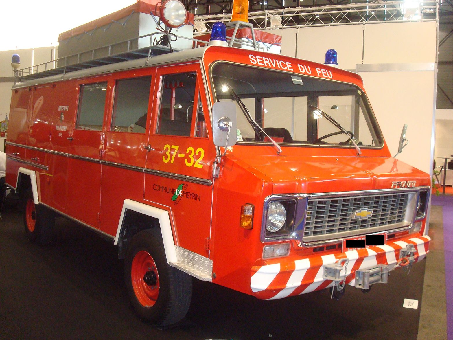 Chevrolet Pompiers (usa) Meyrin Geneve