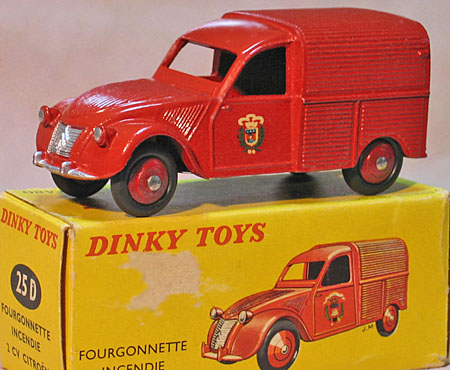 Citroen Camionette   Dinky Toys 25d    1  (france)