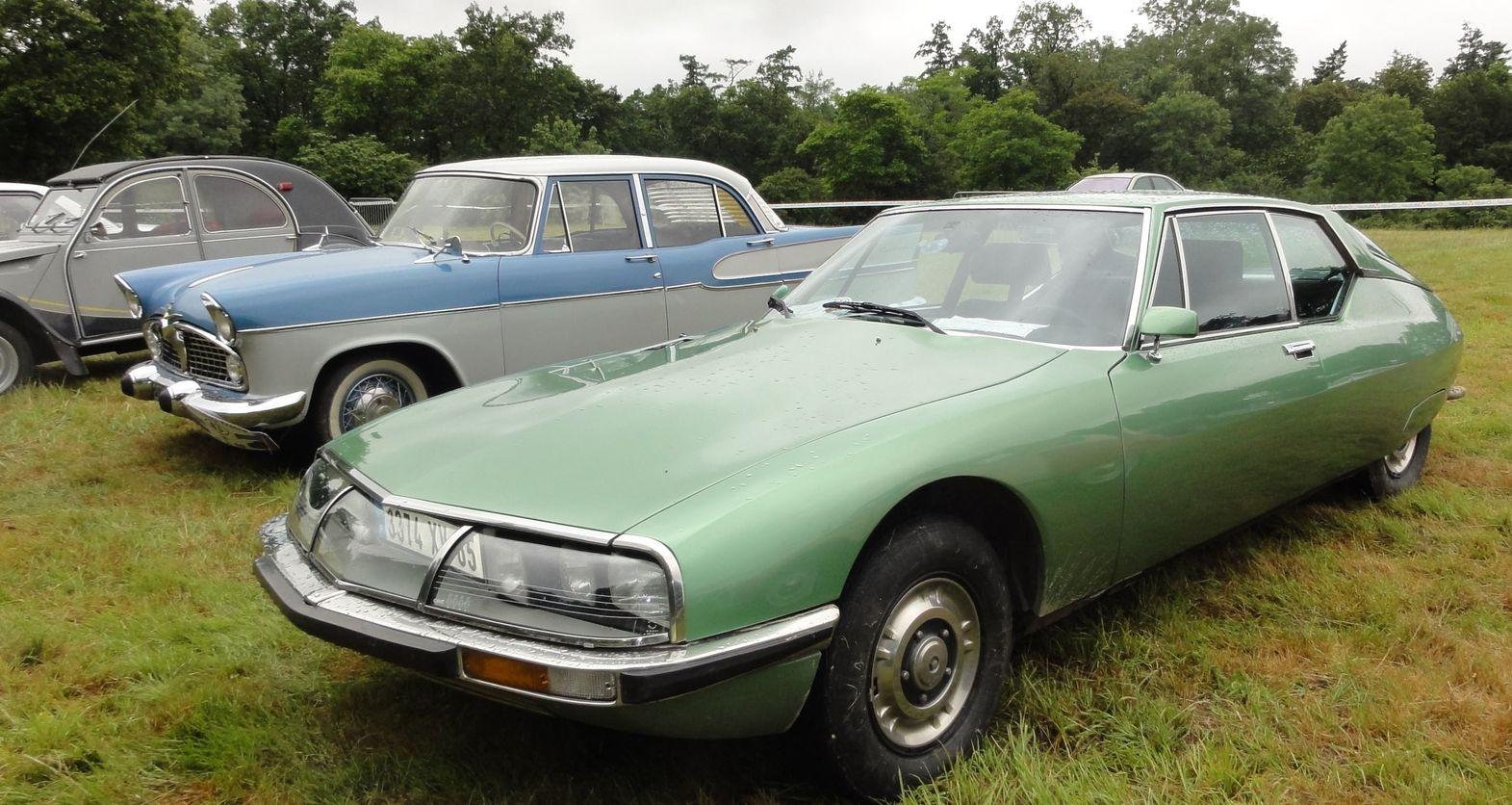 citroen sm 1972 france locomotion en fete cerny voiture de luxe limousine citro n france. Black Bedroom Furniture Sets. Home Design Ideas