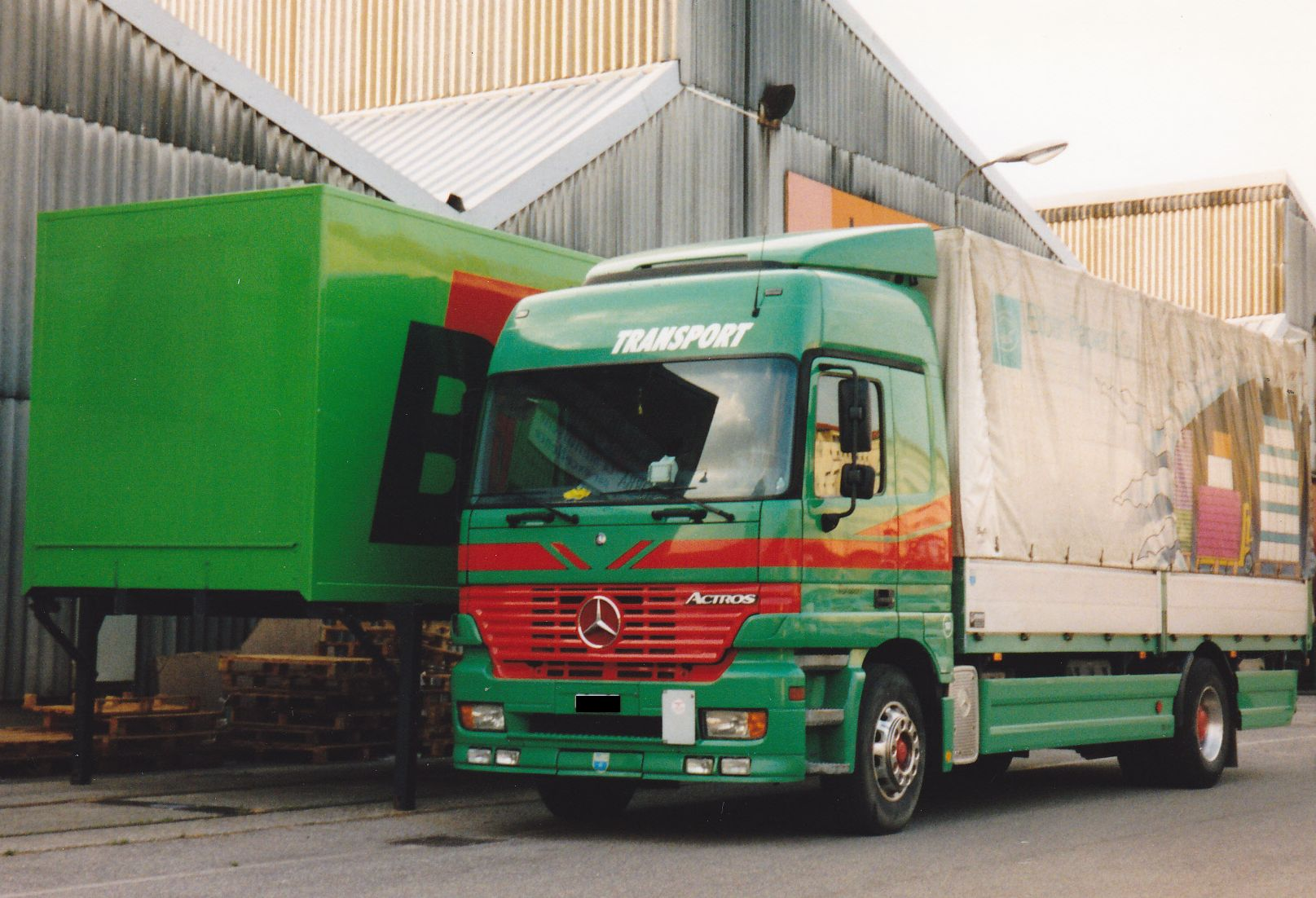 Mercedes Benz Deutschland 0091 Camion Poids Lourds