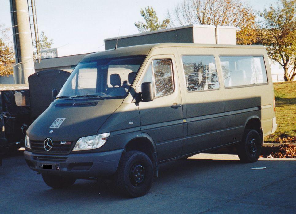 Mercedes Benz Sprinter 313 Deutschland Armee Suisse
