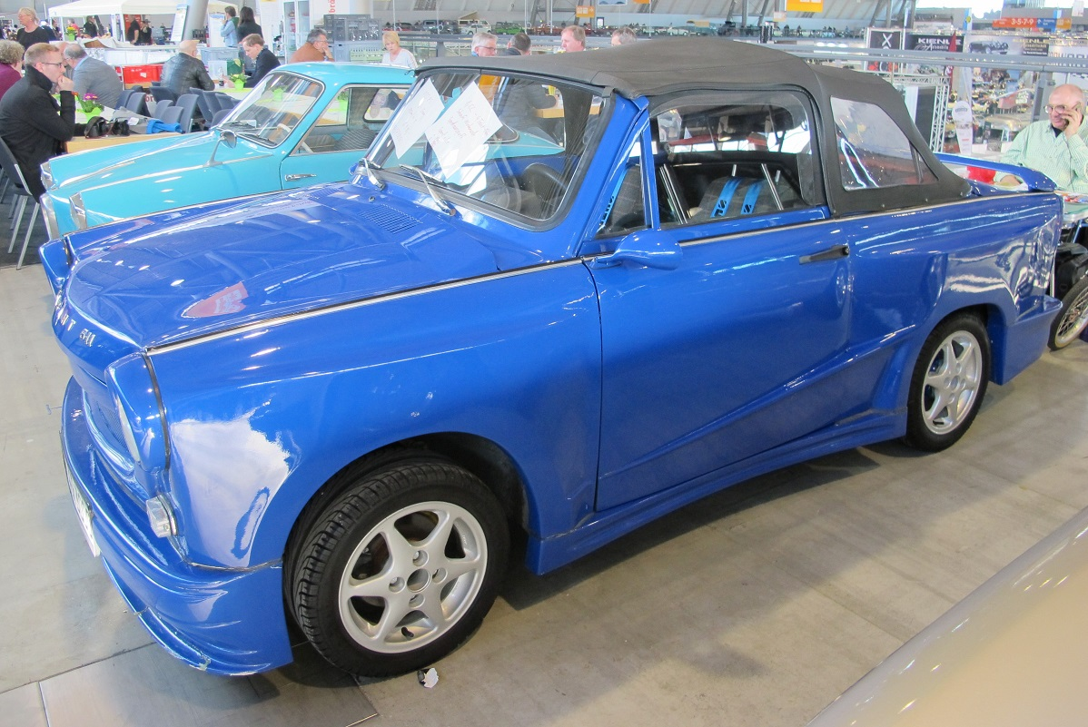 Messe Stuttgart Retro Classic 07.03.2019 Traby Sport   Ddr