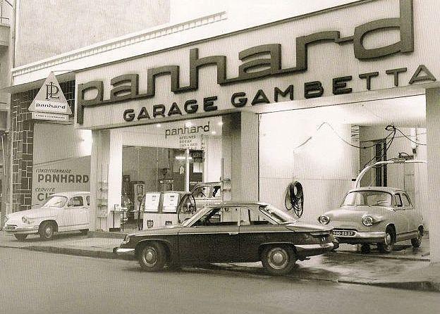 Panhard garage gambetta paris france garage parking for Garage paris 15 auto