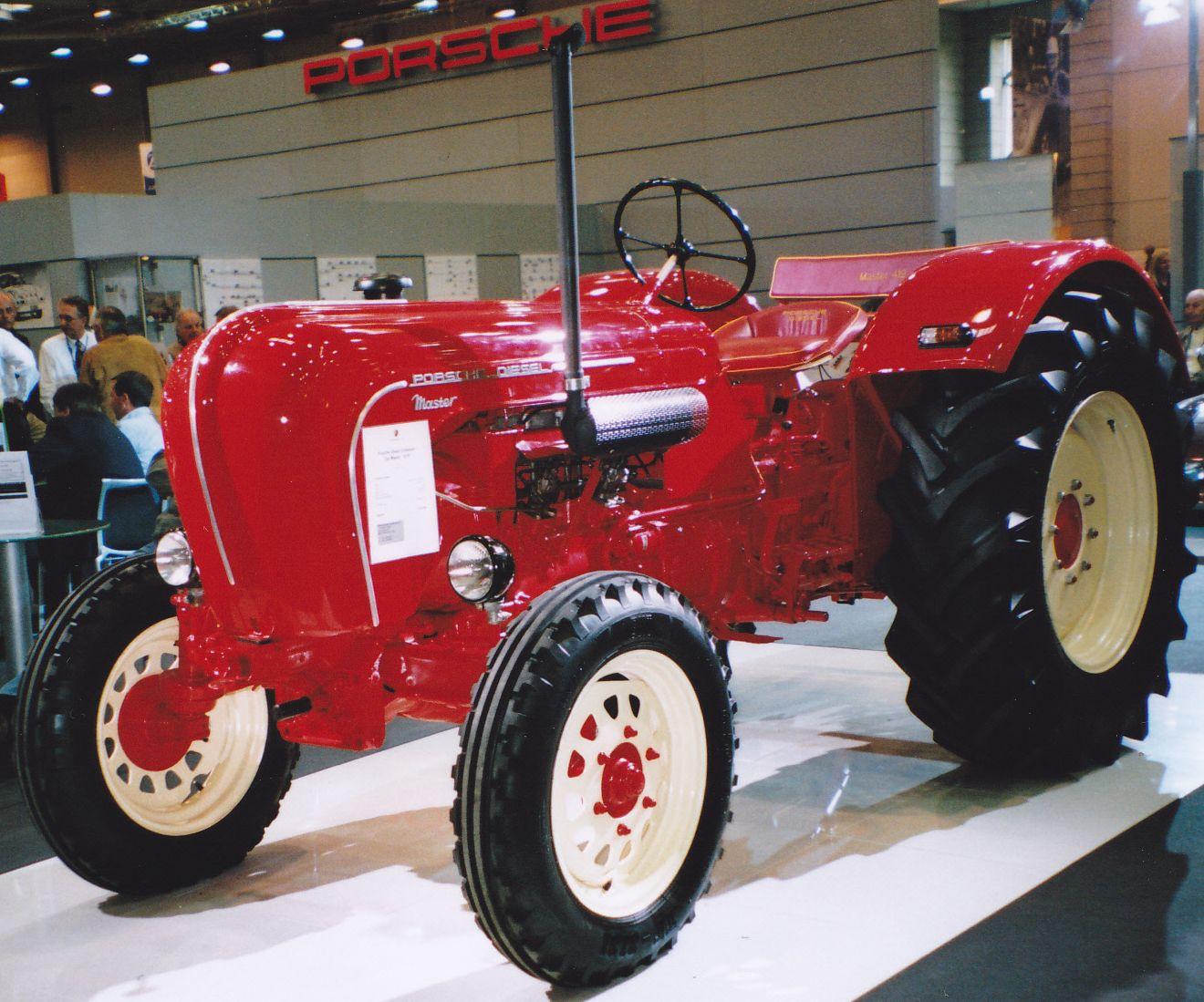 Porsche Diesel Master Germany Tractor Tracteur