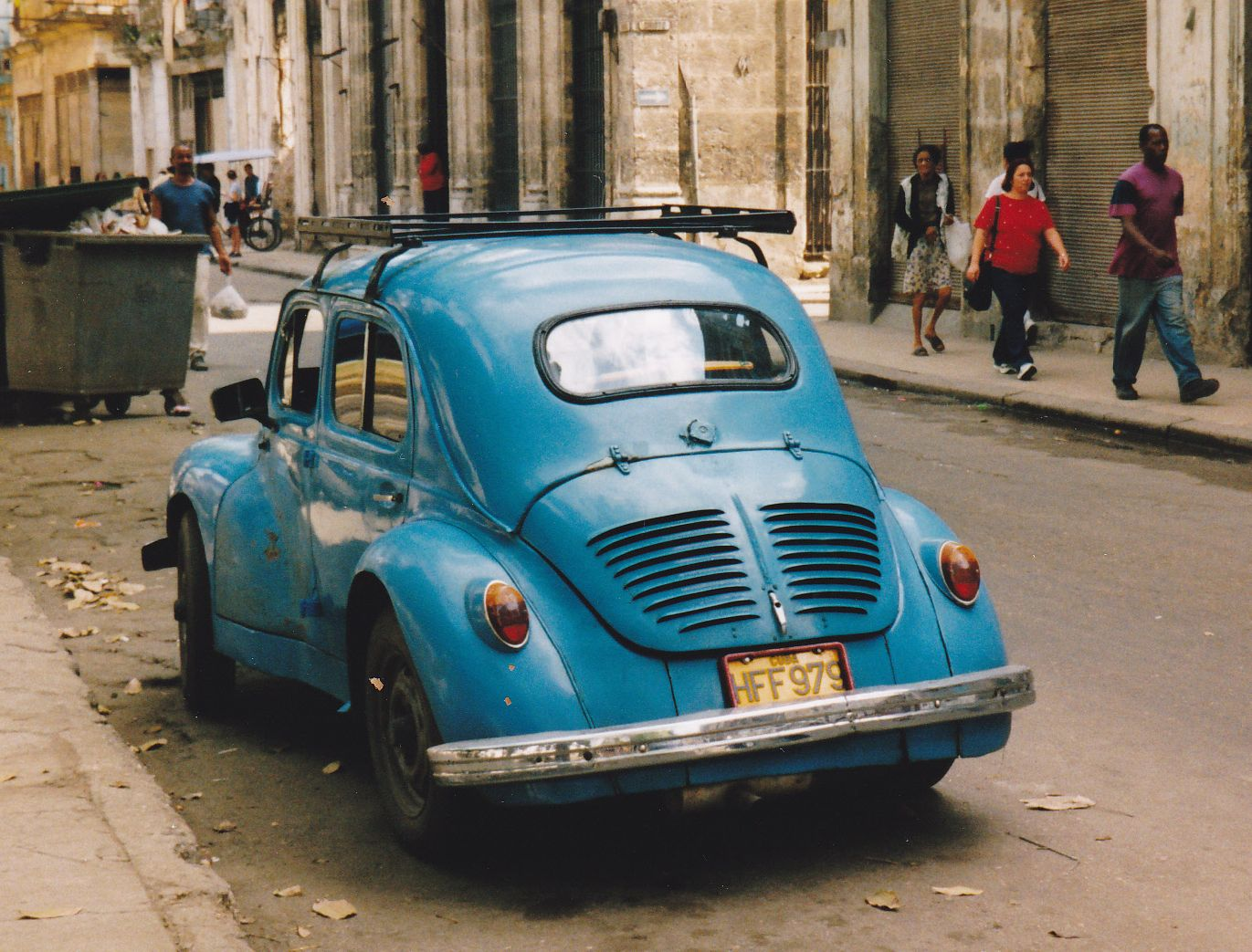 renault regie nationale 4 cv  france  cuba
