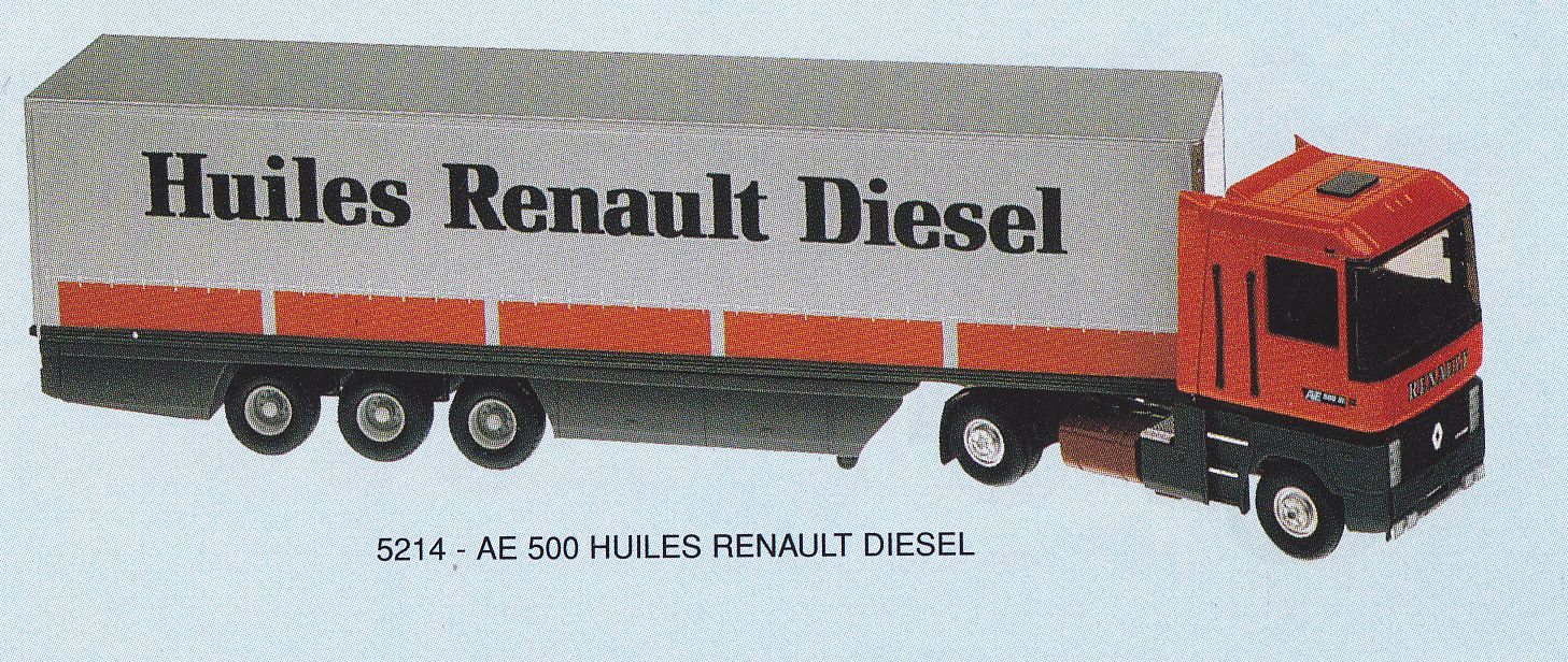 Renault Truck Ae 500 Maquette Lbs (france) 5214
