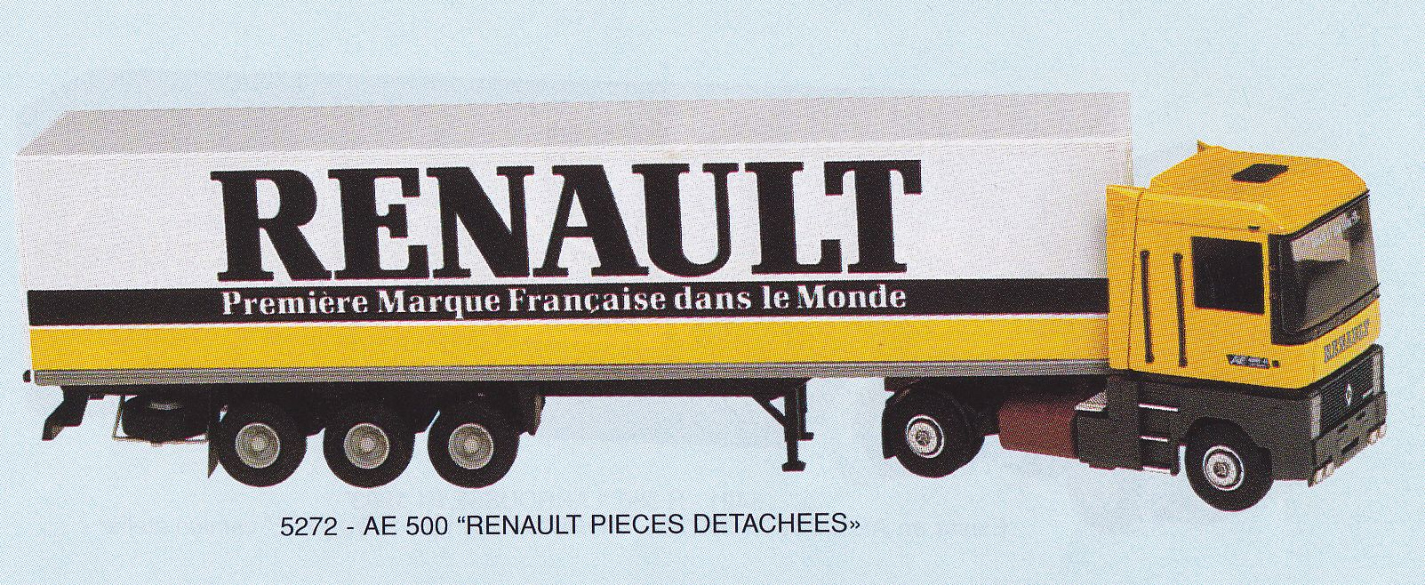 Renault Truck Magnum Ae 500, Maquette Lbs(france) 5272