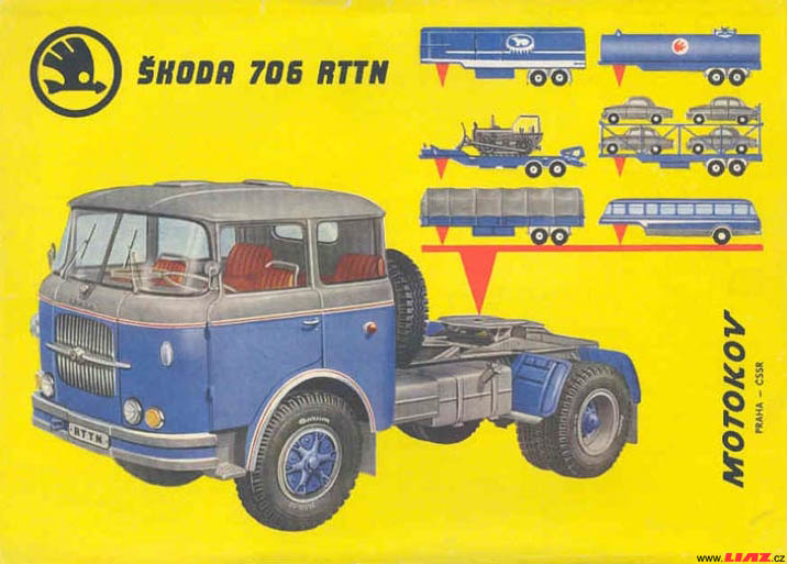 Skoda 706rttn (cz) Catalogue