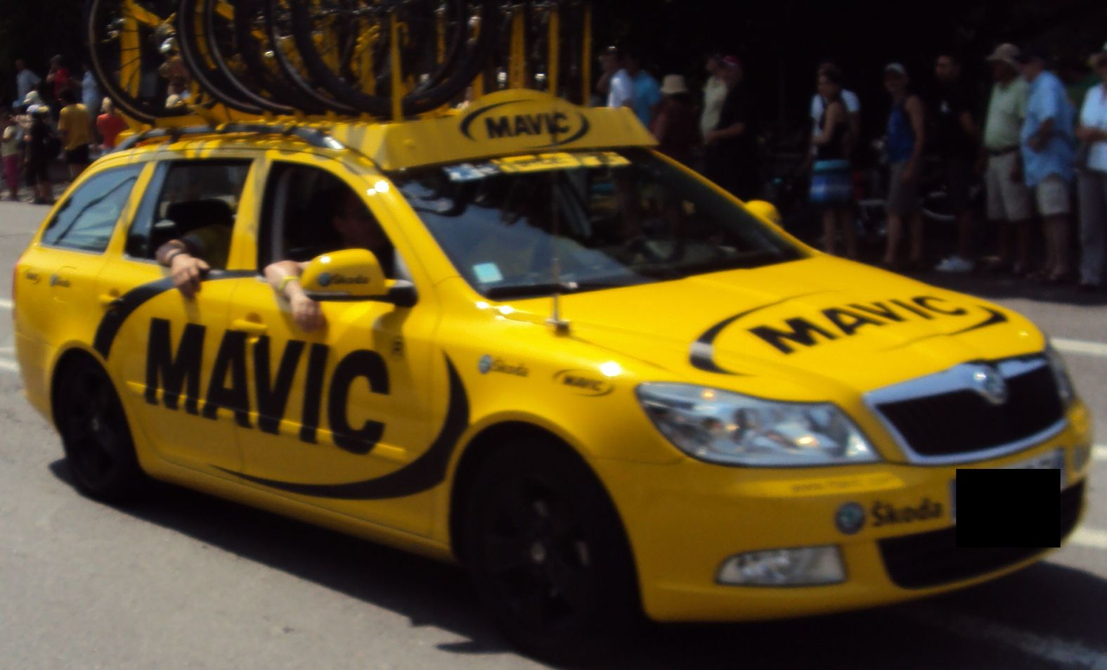 Skoda Au Tour De France Ete 2010 Mavic B
