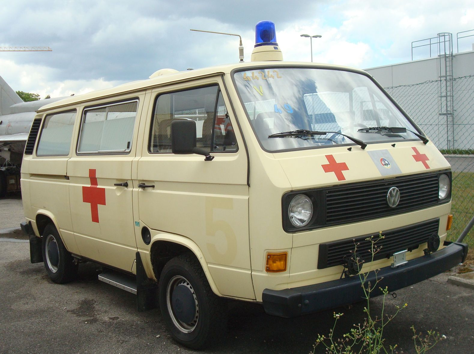 Ambulance Bus
