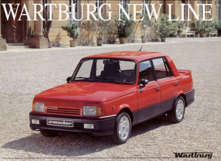 Wartburg (ddr) (photo D Usine)