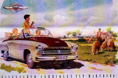 Wartburg 311 Cabriolet 1956 (ddr) Catalogue